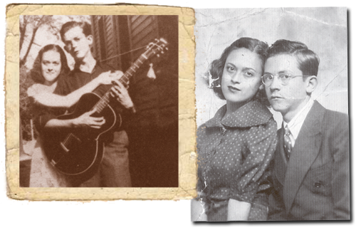 Hank Williams and Irene Williams